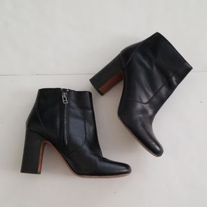 Madewell Black The Sutton Ankle Boot